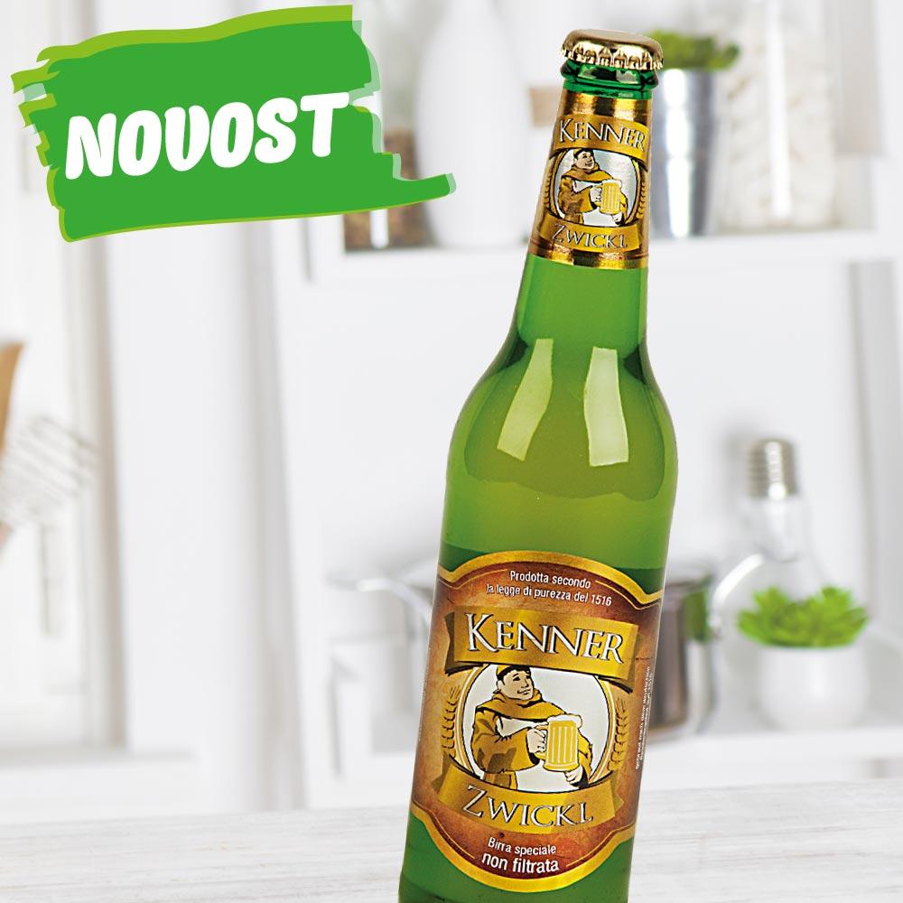 Nefiltrirano pivo Kenner Zwickl, 500 ml