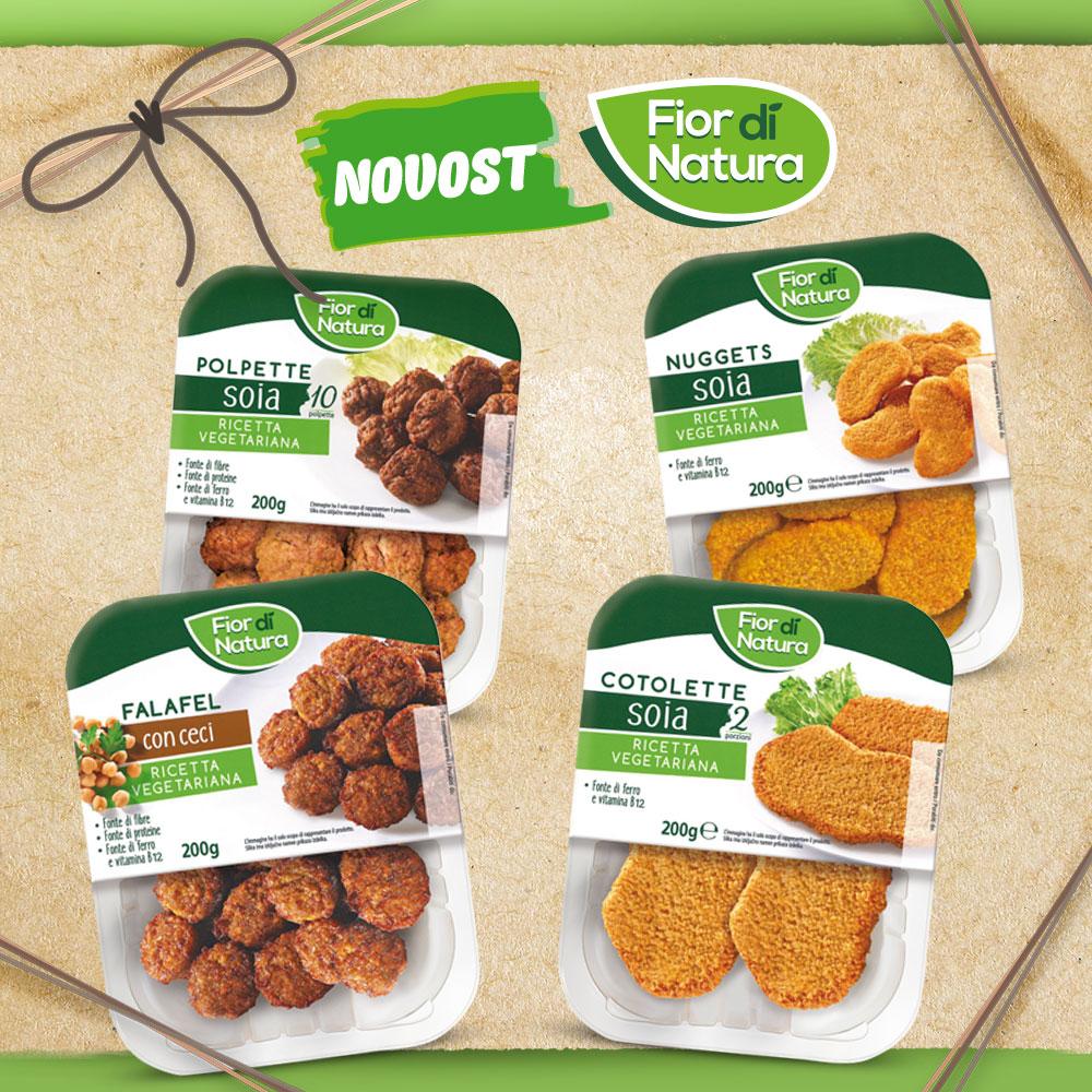 Vegetarijanski izdelki FIOR DI NATURA 200 g