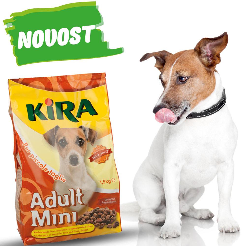 Briketi za pse majhnih pasem 1,5 kg